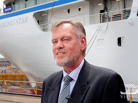 CAPTAIN OF THE NEW VIKING STAR