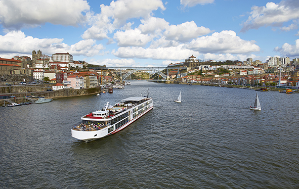 Viking Douro ship, Portugal
