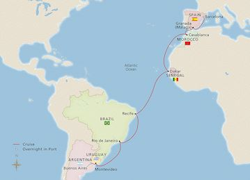 NEW! Southern Atlantic Crossing
