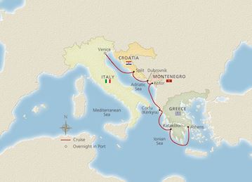 Venice, the Adriatic & Greece