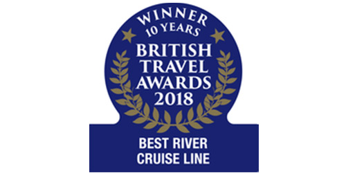 British Travel Awards Best River Cruise 10 years