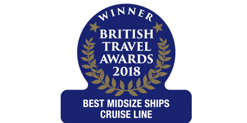 British Travel Awards 2018 Best Midsize Ships