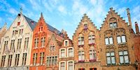 Medieval Buildings & Shops in Bruges