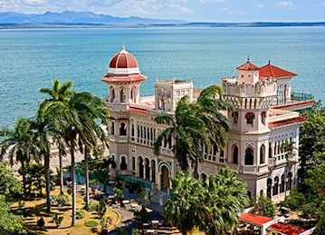 Photo of Palacio de Valle, a historic villa in Cienfuegos, Cuba built by Italian architect, Alfredo Colli