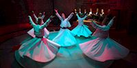The Whirling Dervishes performing