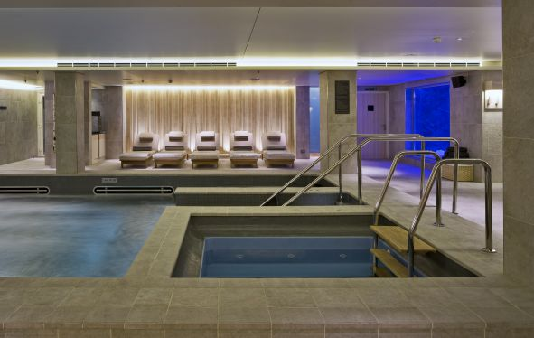 The Spa inside a Viking Ocean Ship.