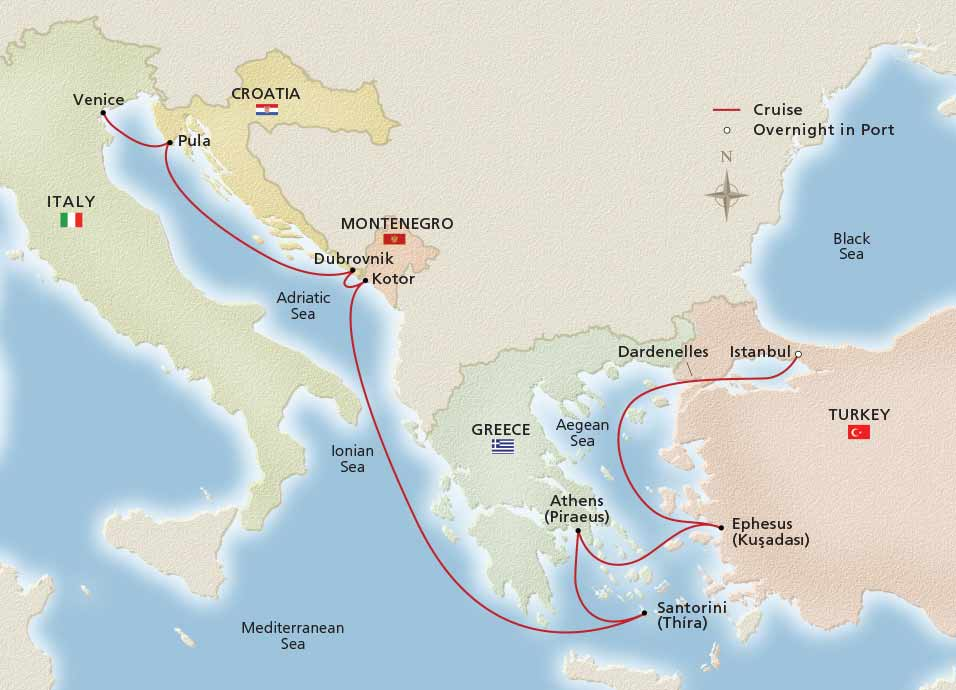 Empires of the Mediterranean map