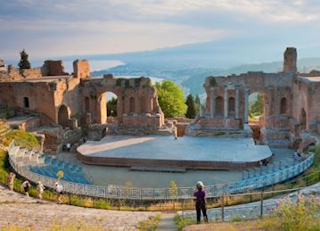 Ancient theater in Taormina