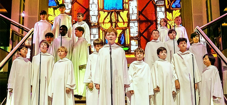 Childrens' Choir on board Viking ocean vessel