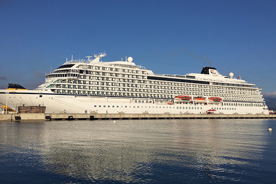 Viking Star docked at port