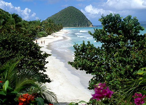 Beach in Tortola, British Virgin Islands