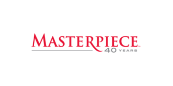 PBS 'Masterpiece' 40 year anniversary logo